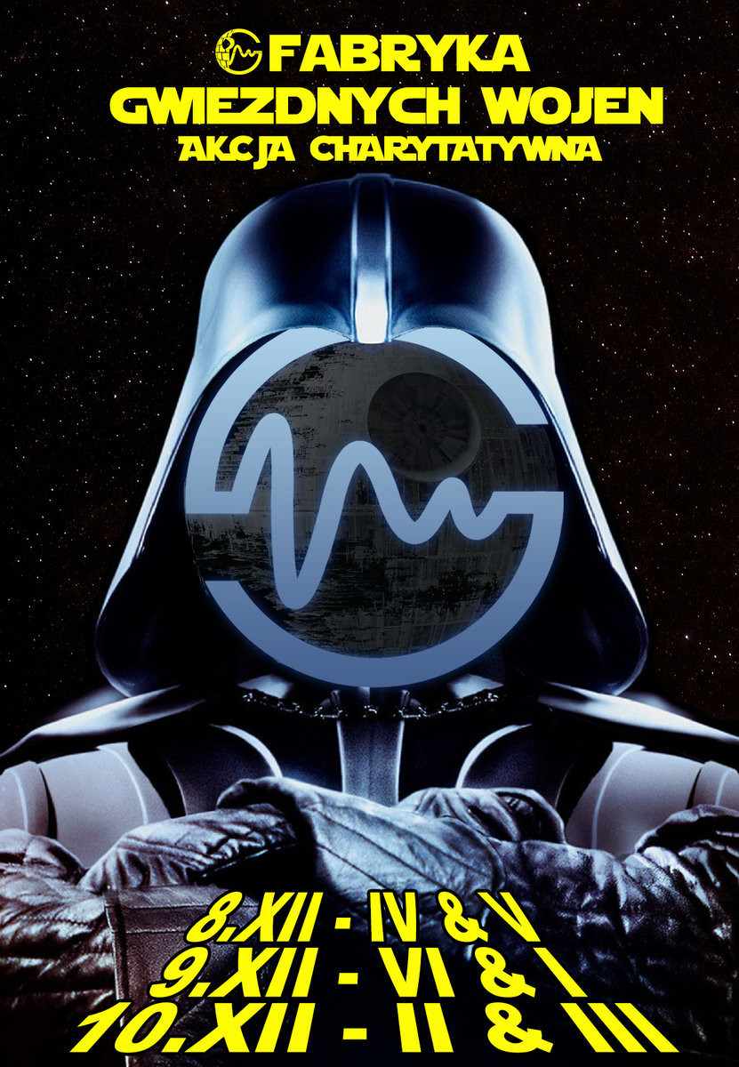 """""""Fabryka Gwiezdnych Wojen"""" − plakat (źródło: materiały prasowe organizatora)"""