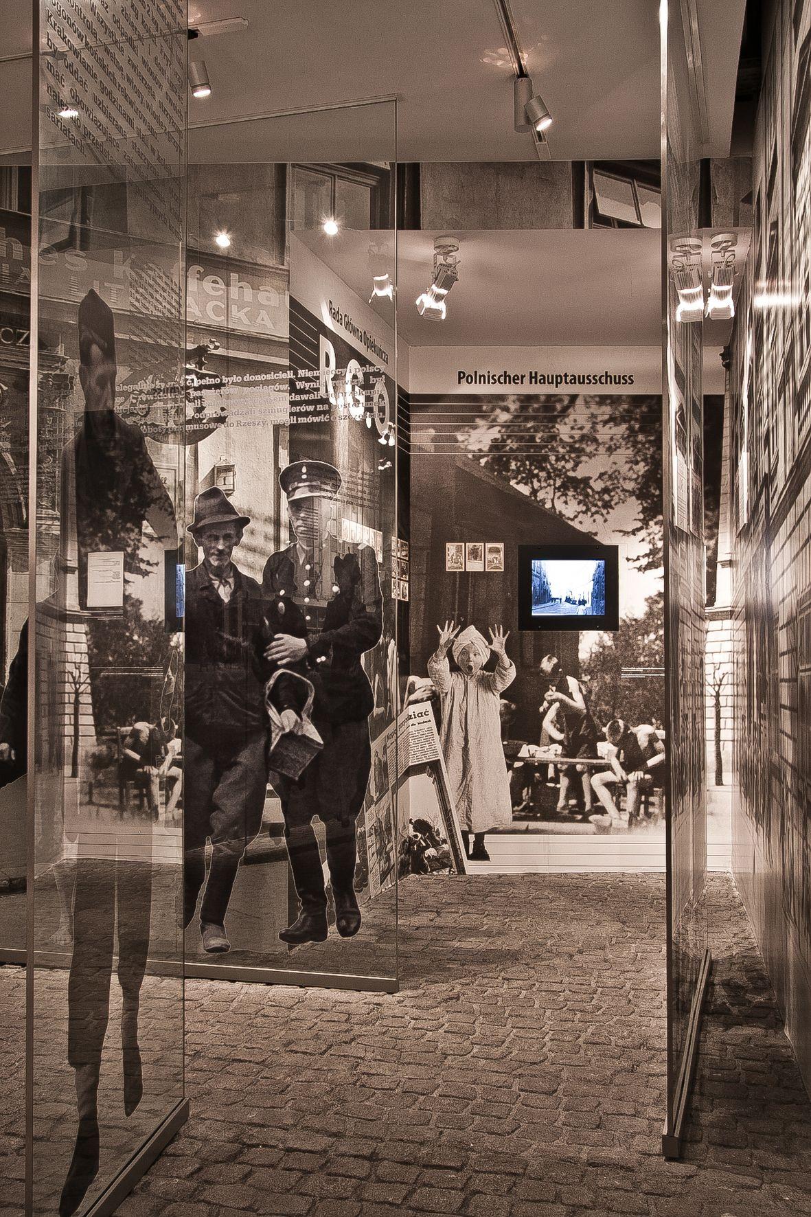 Krakowska ulica – instalacja w oddziale MHK Fabryka Emalia Oskara Schindlera (źródło: materiały prasowe)