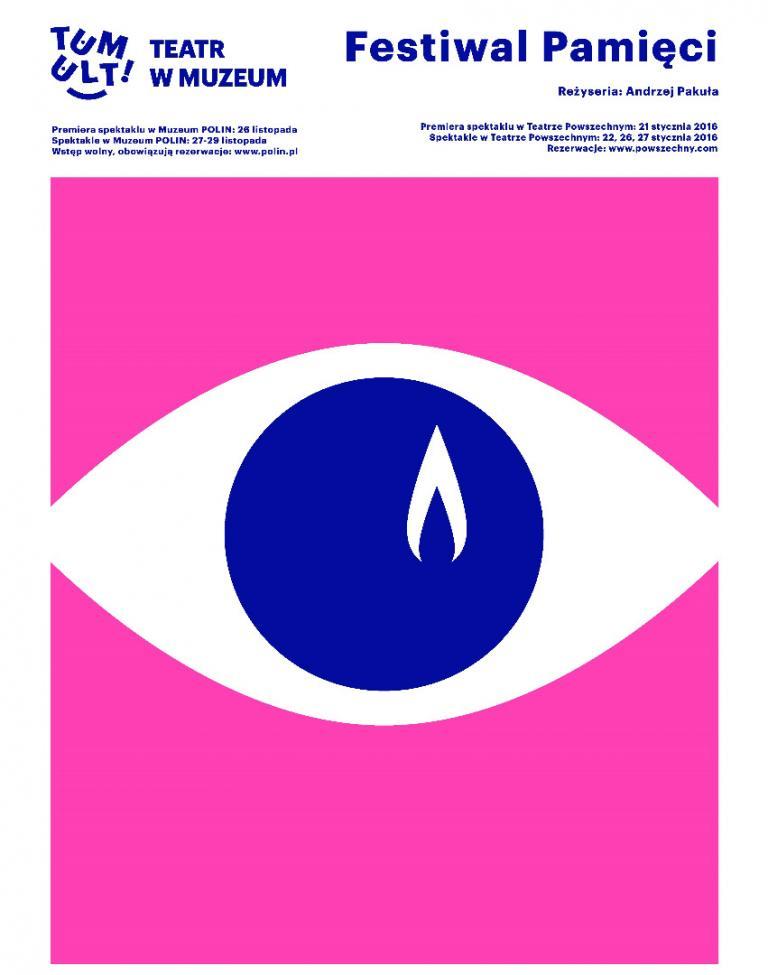 """""""Festiwal Pamięci"""", reż. Andrzej Pakuła, plakat (źródło: materiały organizatora)"""
