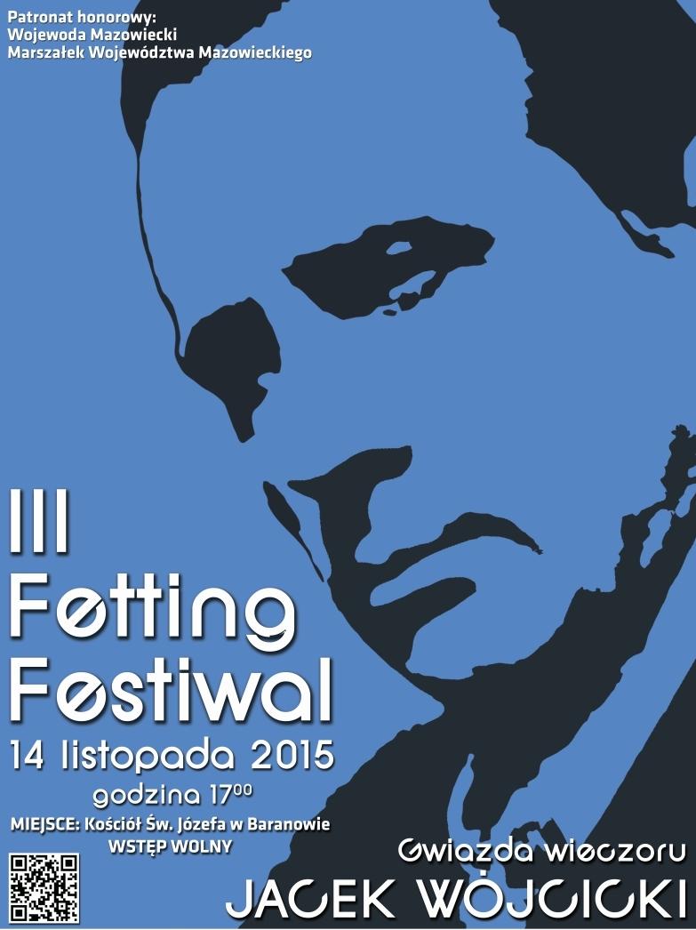 III Fetting Festiwal – plakat (źródło: materiały prasowe organizatora)