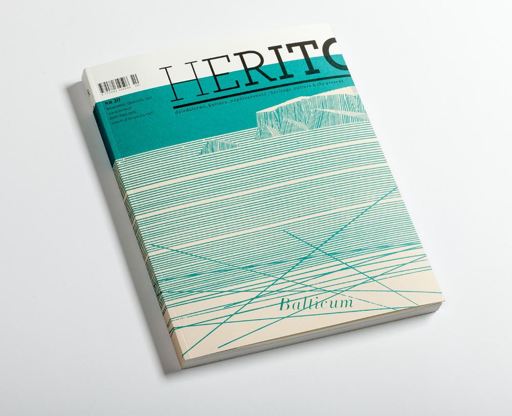 """Kwartalnik """"Herito"""", """"Horyzonty Balticum"""", nr 20, okładka (źródło: materiały prasowe)"""