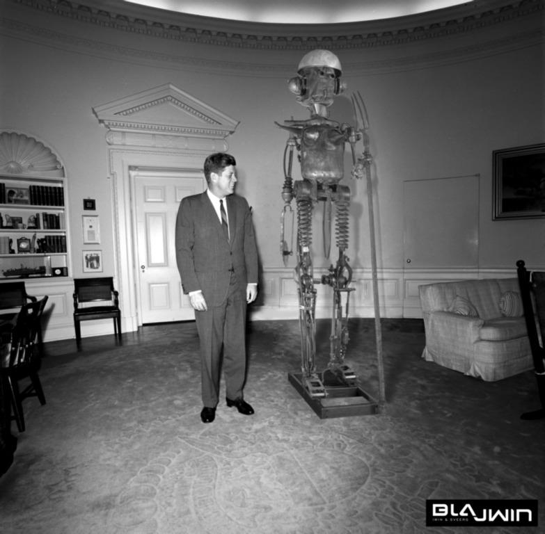 Blajwin Neptun and The Pesident Kennedy in White House (źródło: materiały prasowe organizatora)