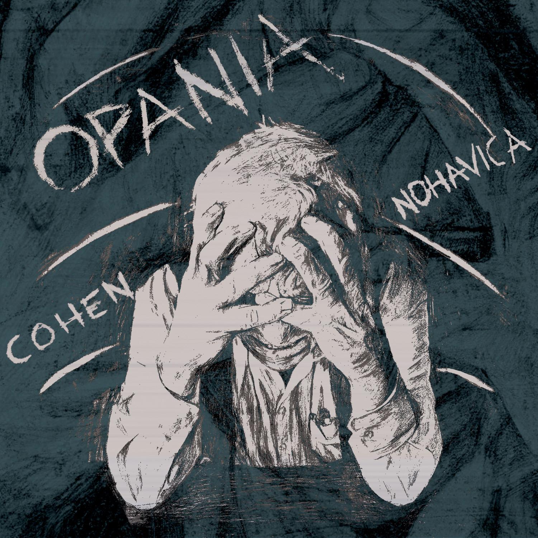 """Marian Opania, """"Cohen – Nohavica"""" – okładka płyty (źródło: materiały prasowe wydawcy)"""