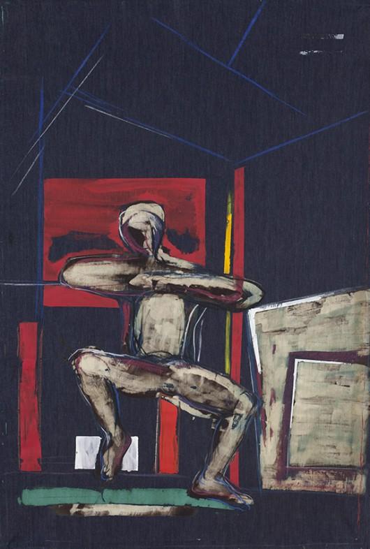 """Mariusz Mikołajek, """"Before you I"""", 2011 (źródło: materiały prasowe organizatora)"""