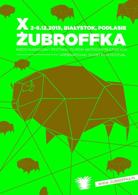 X Międzynarodowy Festiwal Filmów Krótkometrażowych ŻubrOFFka – plakat (źródło:materiały prasowe)
