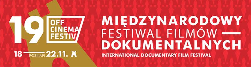 Międzynarodowy Festiwal Filmów Dokumentalnych OFF CINEMA – plakat (źródło: materiały organizatora)