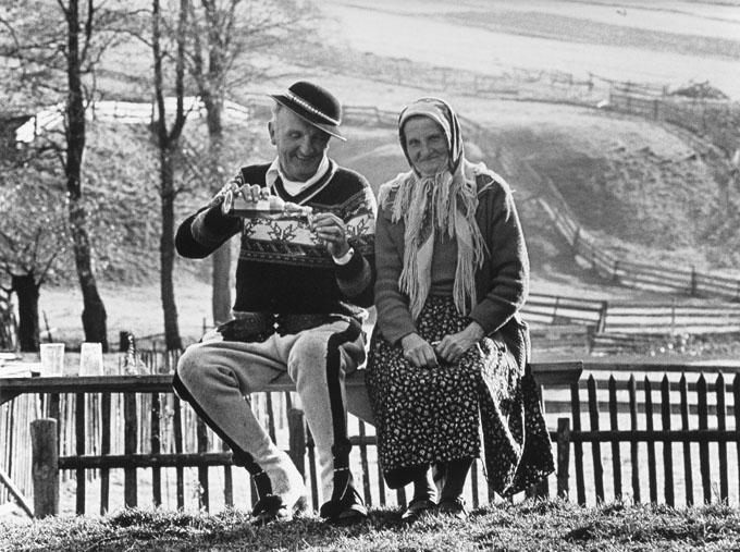"""Fotografia autorstwa Leszka Jerzego Pękalskiego, wystawa """"Dawno temu na Podhalu"""" (źródło: materiały prasowe organizatora)"""