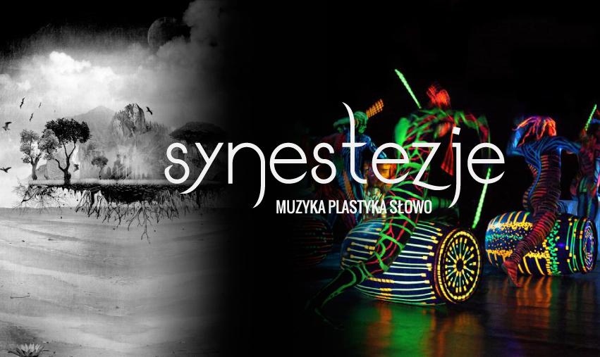 Festiwal Synestezje: Muzyka. Plastyka. Słowo − plakat (źródło: materiały prasowe organizatora)