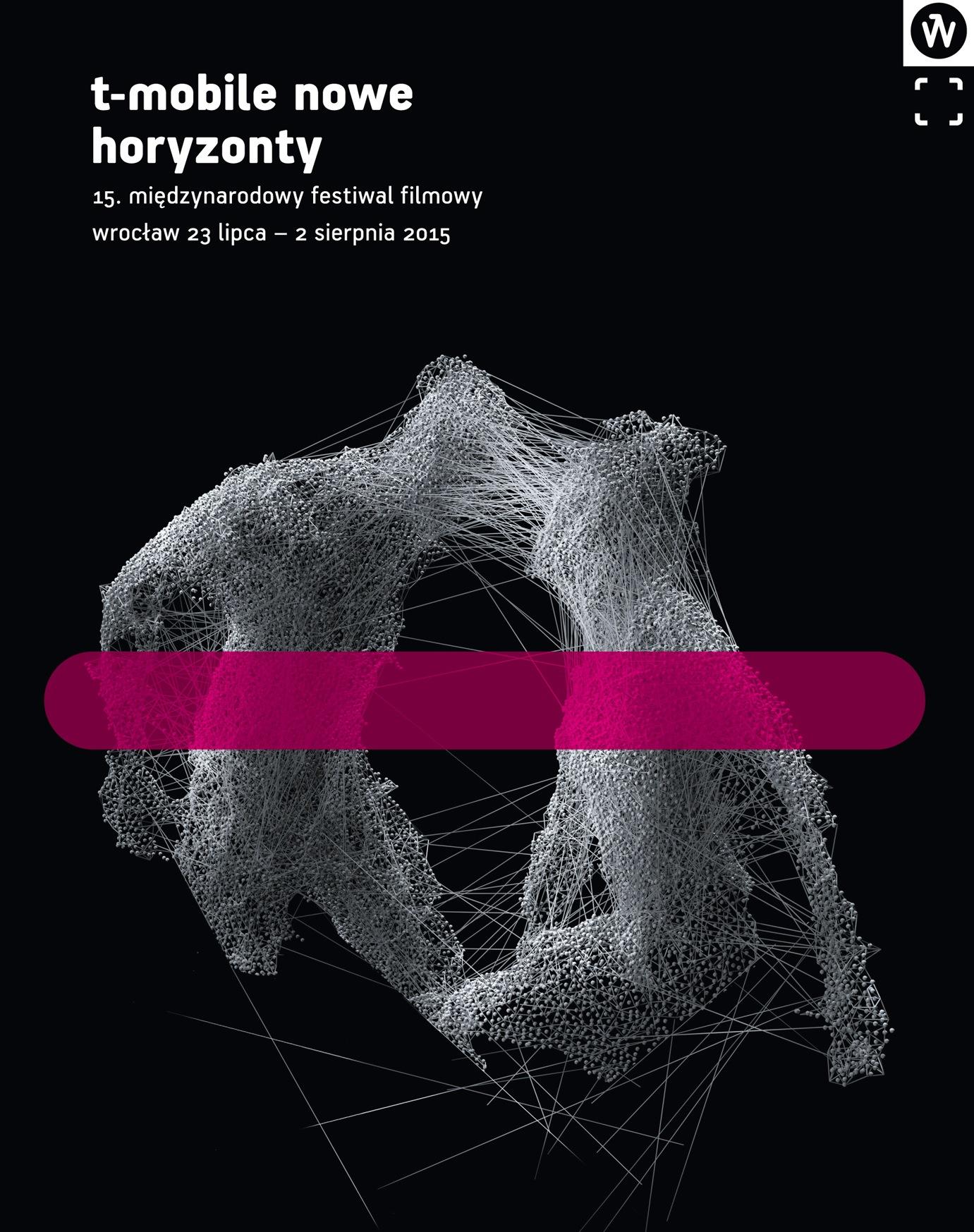 """""""15. MFF T-Mobile Nowe Horyzonty we Wrocławiu"""" − plakat (źródło: materiały prasowe organizatora)"""
