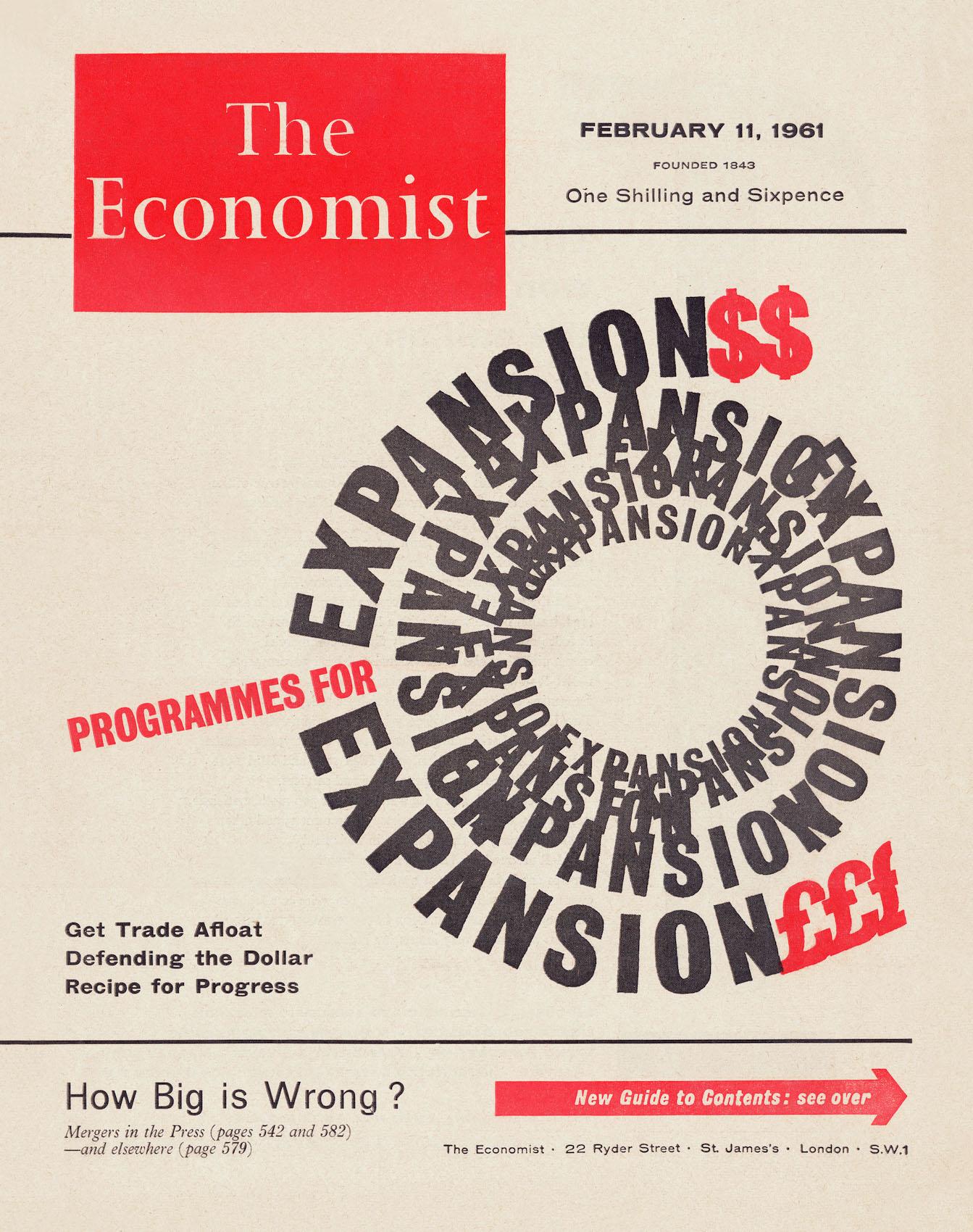 "Romek Marber, ""The Economist – Programmes for Expansion"" (źródło: materiały prasowe organizatora)"