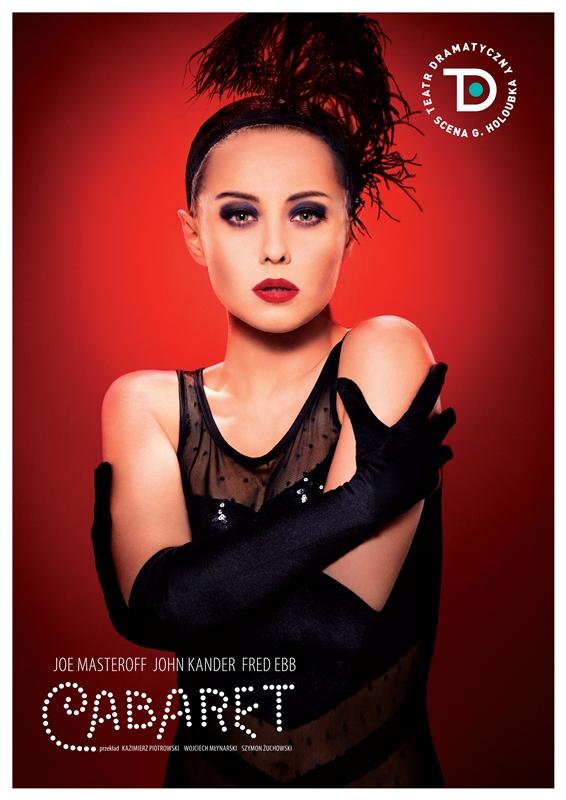 """""""Cabaret"""", reż. Ewelina Pietrowiak, plakat (źródło: materiały prasowe organizatora)"""