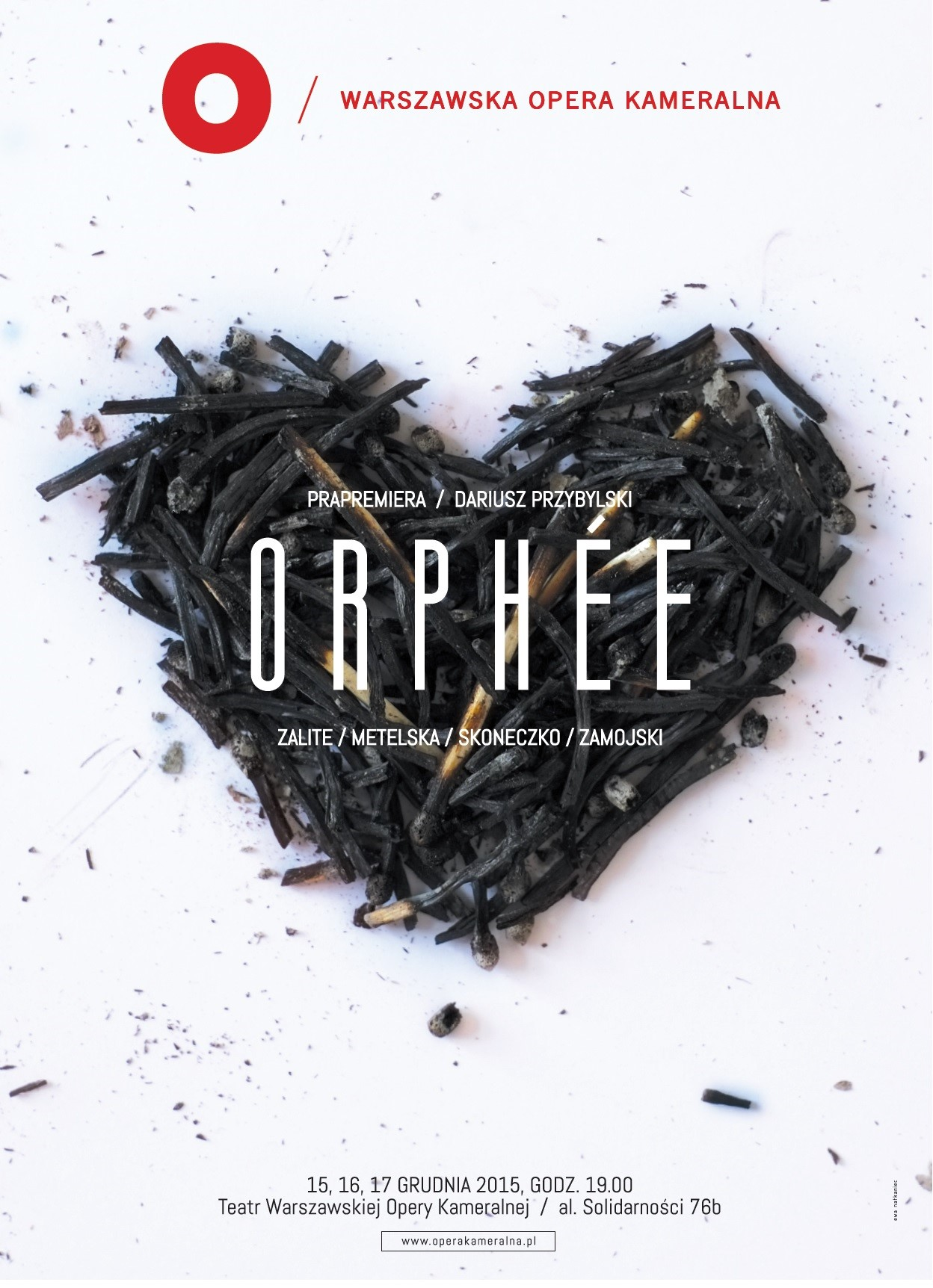"""Orphée"", reż. Margo Zālīt, plakat (źródło: materiały prasowe organizatora)"
