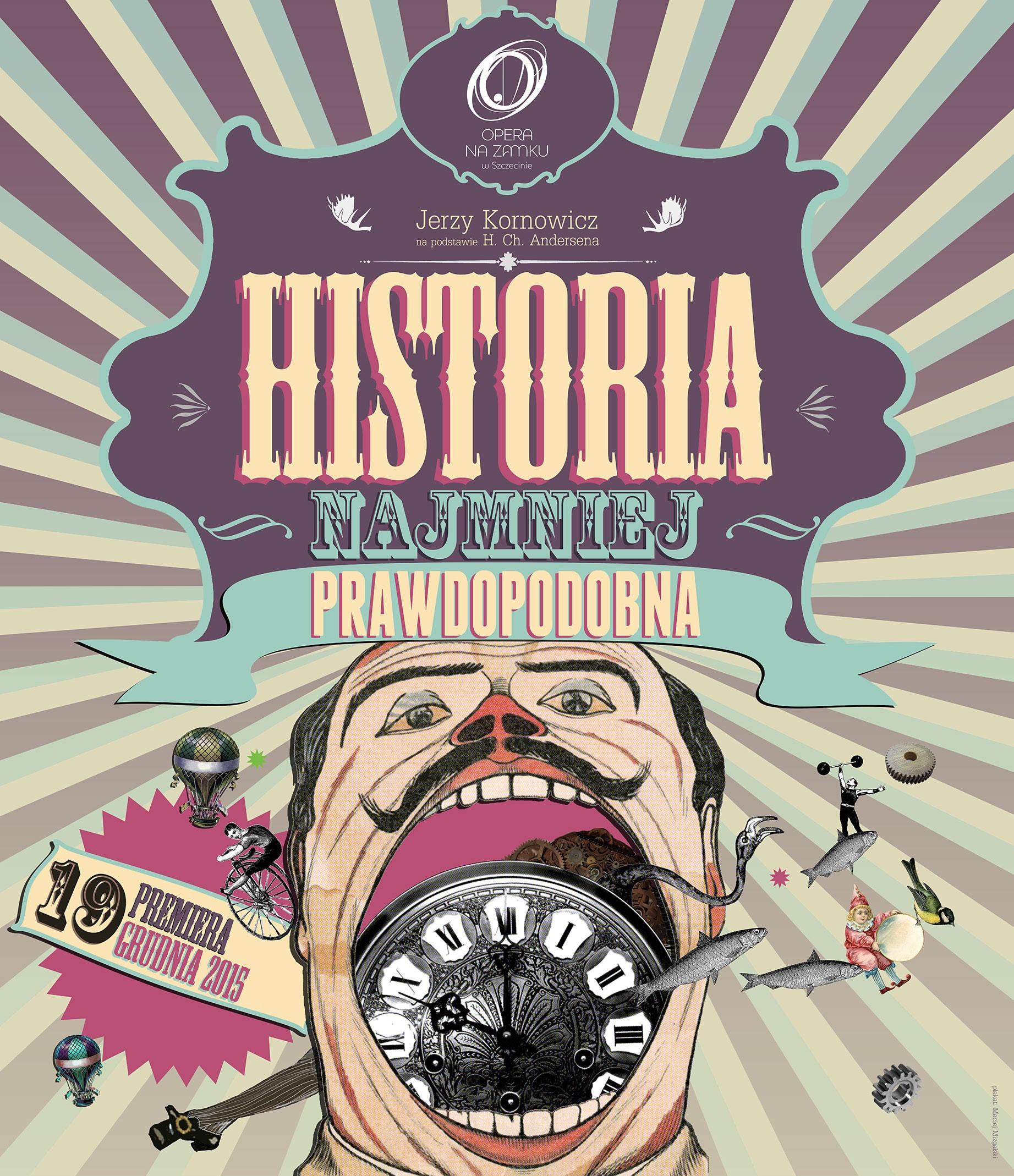 """""""Historia najmniej prawdopodobna"""", reż. Natalia Babińska, plakat (źródło: materiały organizatora)"""