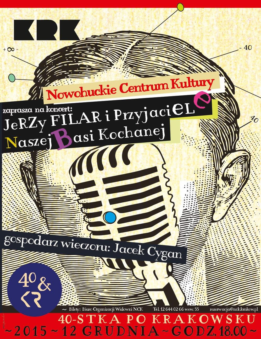 """""""40-stka po krakowsku"""" − plakat (źródło: materiały prasowe organizatora)"""