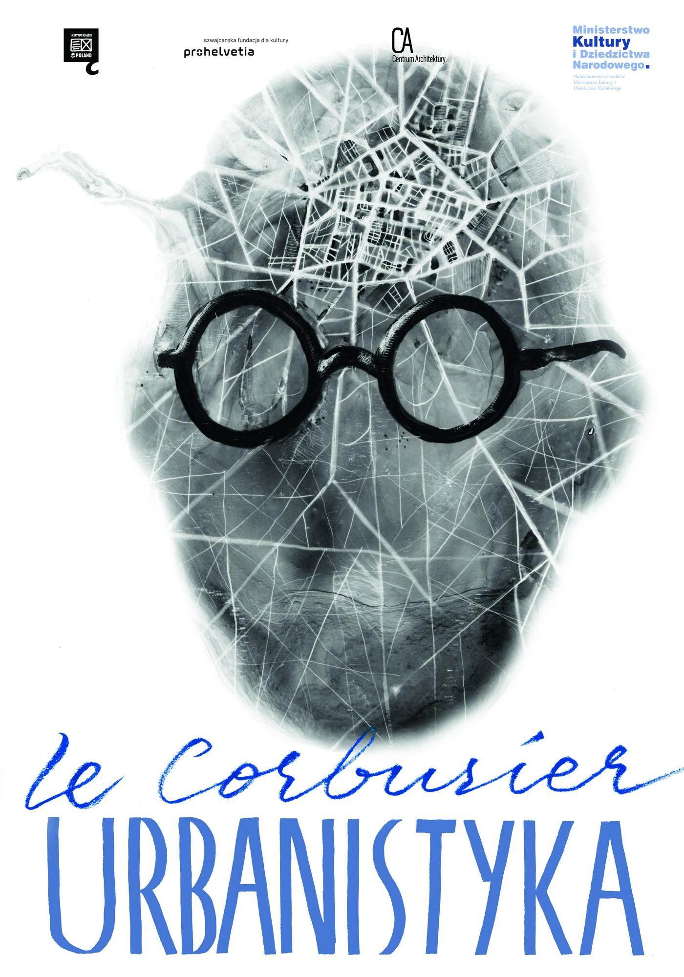 """Le Corbusier, """"Urbanistyka"""" – plakat, projekt: Grzegorz Jarzynowski (źródło: materiały prasowe)"""