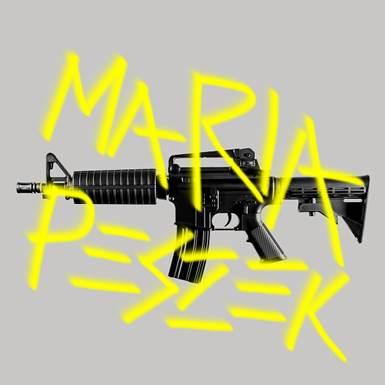 """Maria Peszek, """"Karabin"""" – okładka albumu (źródło: materiały prasowe wytwórni)"""