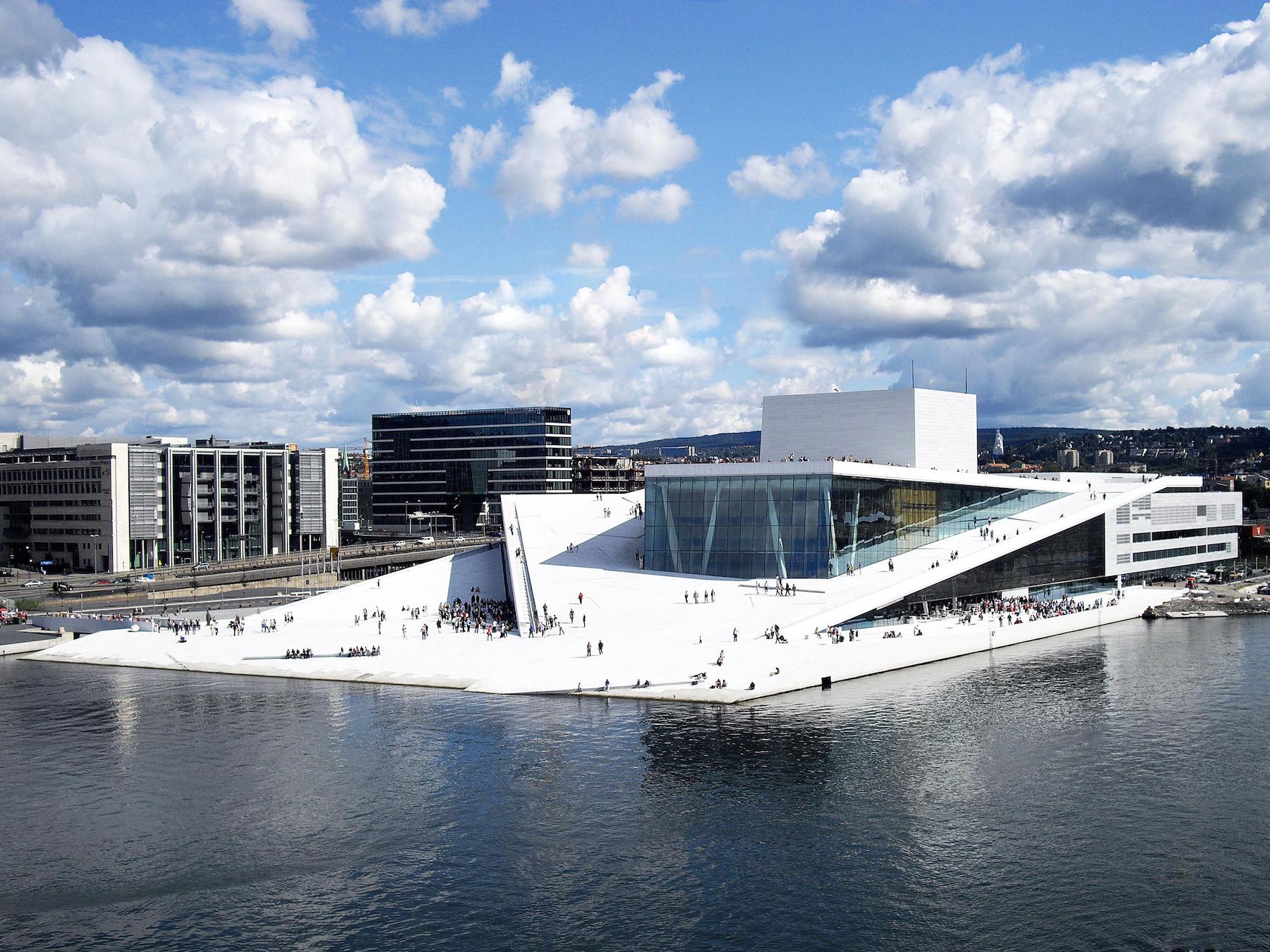 Snøhetta, Opera Narodowa w Oslo, Mies van der Rohe Award 2009, Fot. Christopher Hagelund (źródło: materiały prasowe organizatora)