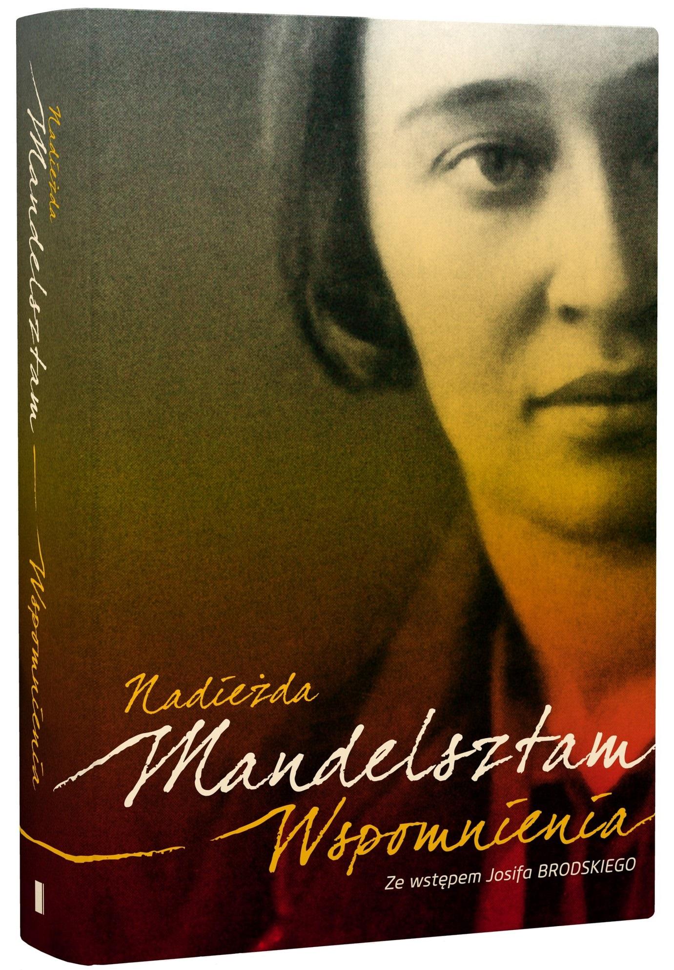 """Nadieżda Mandelsztam, """"Wspomnienia"""" – okładka (źródło: materiały prasowe)"""