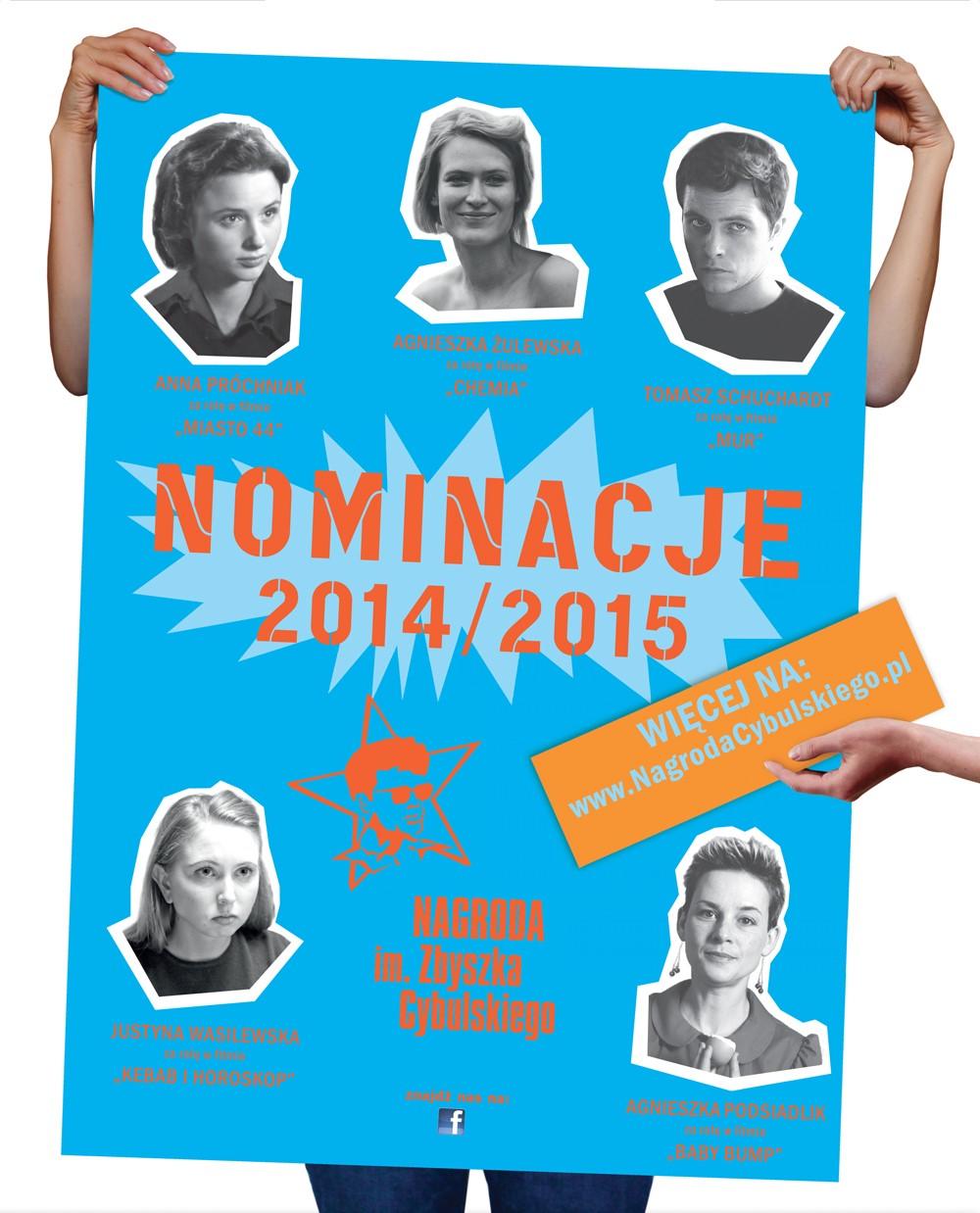 Nagroda im. Zbyszka Cybulskiego – plakat (źródło: materiały organizatora)