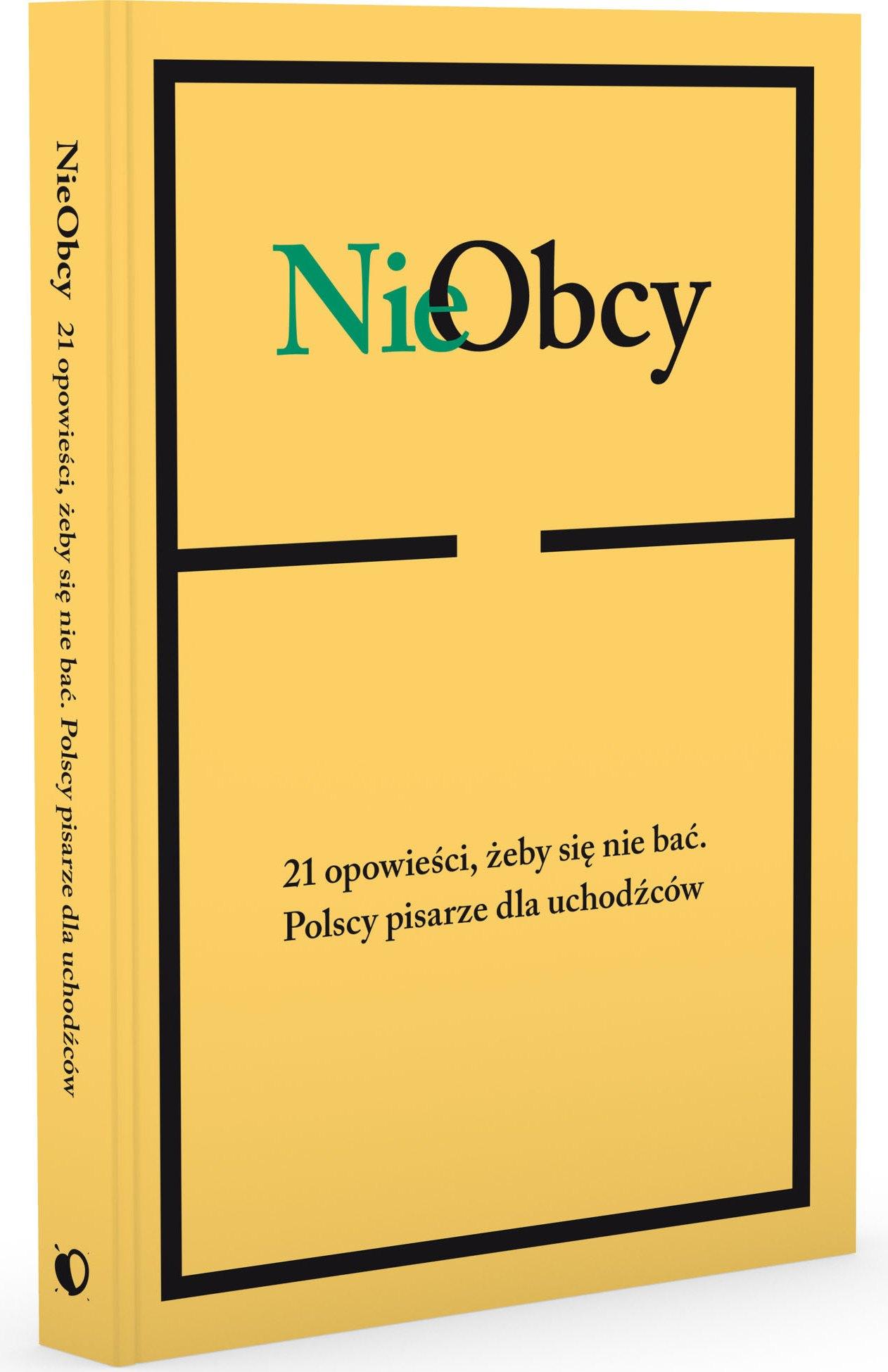"""""""NieObcy"""" – okładka, Wydawnictwo Agora (źródło: materiały prasowe)"""