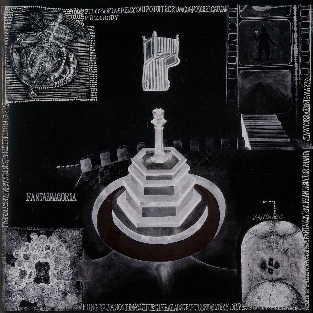 """Oneiron, """"Czarne karty. Karta F"""", 1967–1969 (źródło: materiały prasowe organizatora)"""