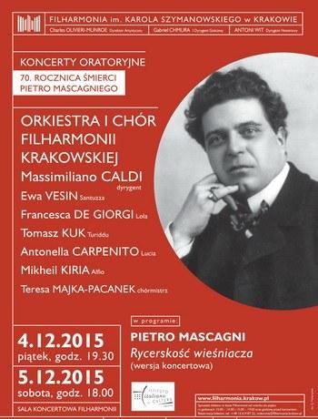 """""""Koncerty oratoryjne"""" − plakat (źródło: materiały prasowe organizatora)"""