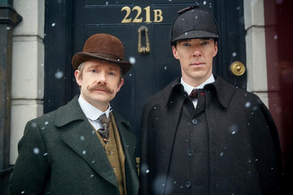 """""""Sherlock i upiorna panna młoda"""", reż. Douglas Mackinnon (źródło: materiały dystrybutora)"""
