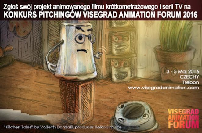 Visegrad Animation Forum 2016 – nabór zgłoszeń (źródło: materiały prasowe organizatora)