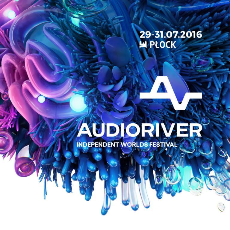 11. edycja Festiwalu Audioriver w Płocku – plakat (źródło: materiały prasowe organizatora)