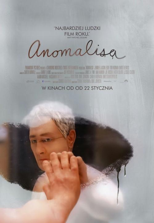"""""""Anomalisa"""", reż. Charlie Kaufman, Duke Johnson, plakat (źródło: materiały prasowe dystrybutora)"""