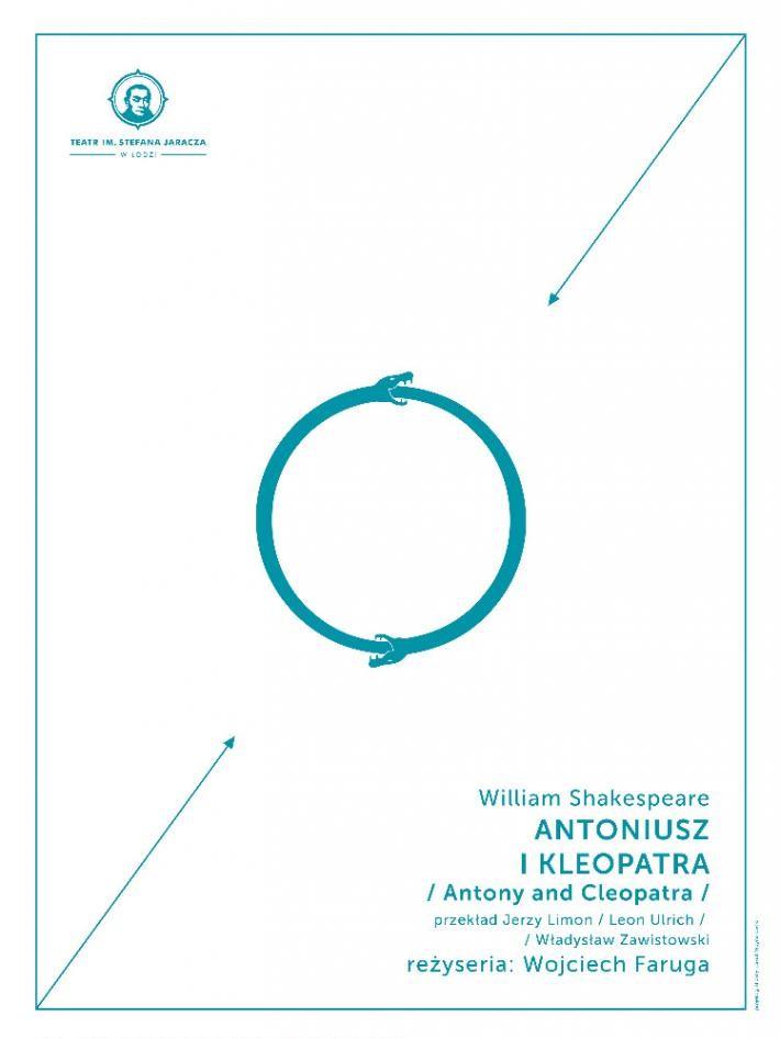 """""""Antoniusz i Kleopatra"""", reż. Wojciech Faruga, plakat (źródło: materiały prasowe organizatora)"""