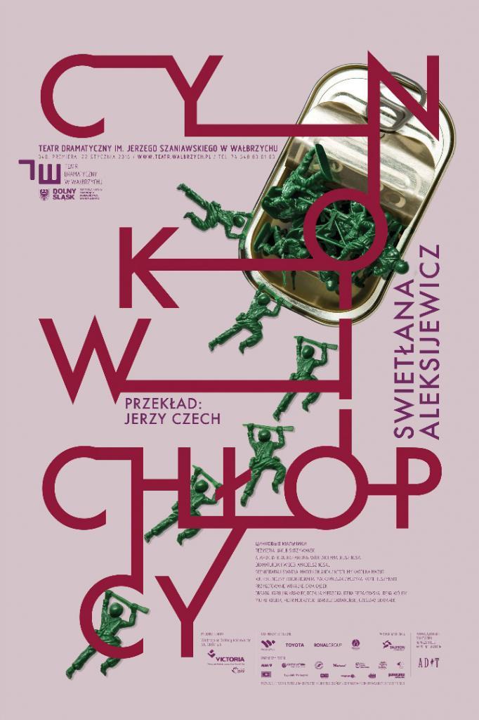 """""""Cynkowi chłopcy"""", reż Jakub Skrzywanek, plakat projektu Mirka Kaczmarka (źródło: materiały prasowe organizatora)"""