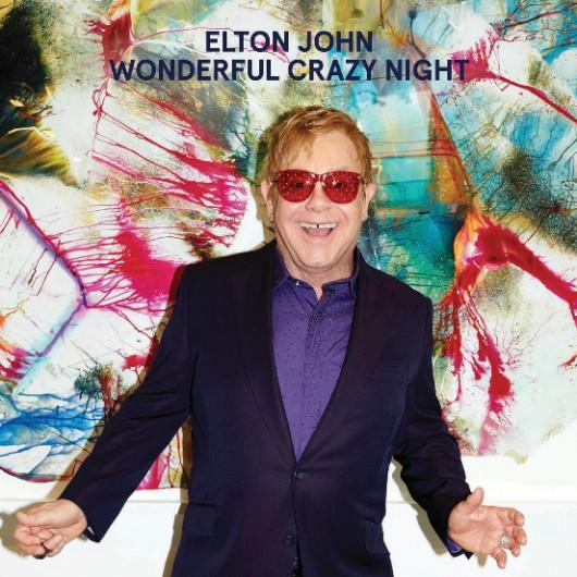 """Elton John, """"Wonderful Crazy Night"""" – okładka płyty (źródło:  materiały prasowe wydawcy)"""