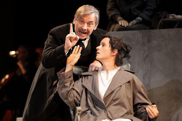 """""""Madame Curie"""", fot. Sebastian Ćwikła, Opera Bałtycka (źródło: materiały prasowe organizatora)"""