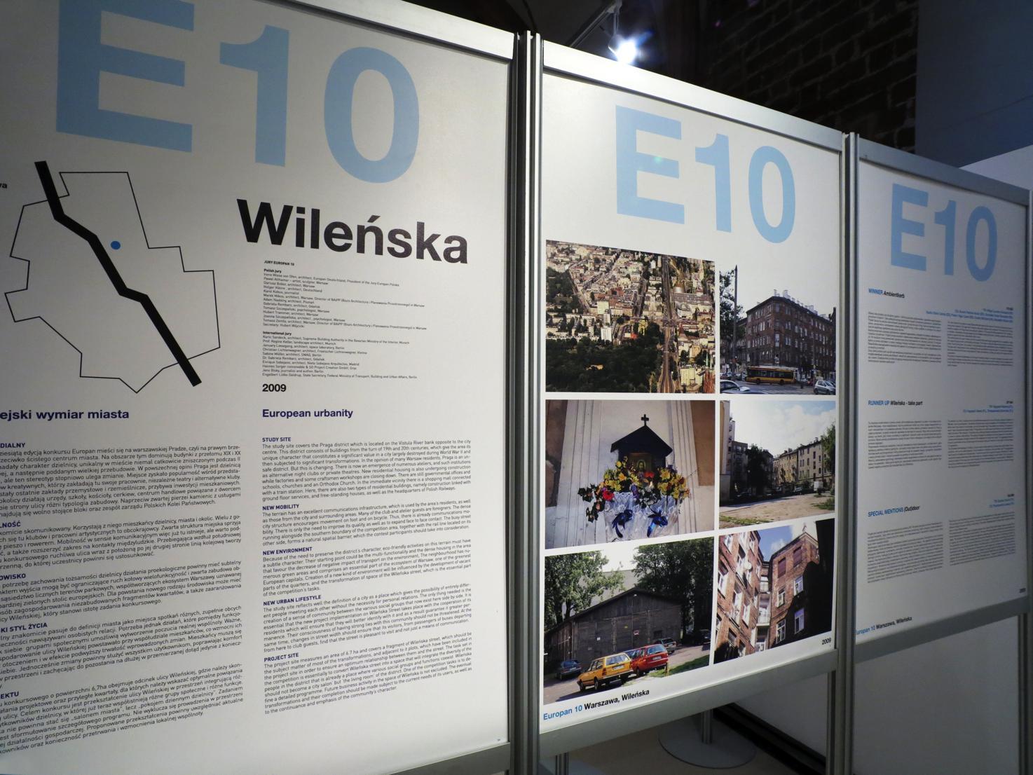 """Widok wystawy """"Europan laboratirum architektury"""", Muzeum Architektury we Wrocławiu (źródło: materiały prasowe organizatora)"""