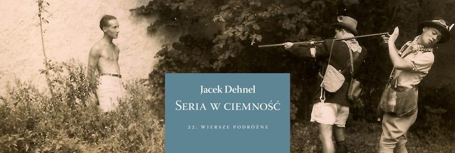 """Jacek Dehnel, """"Seria w ciemność"""" (źródło: materiały prasowe wydawcy)"""
