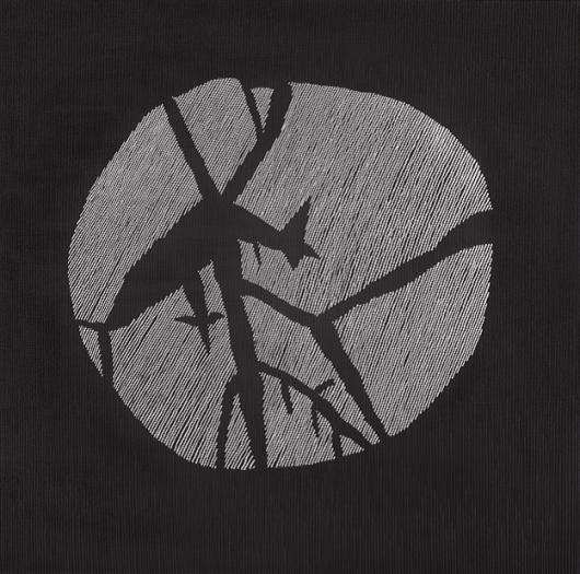 """Jan Dobkowski, """"Księżyc i moja czereśnia IV"""" (2010), fot. M. Łabuz (źródło: materiały prasowe organizatora)"""
