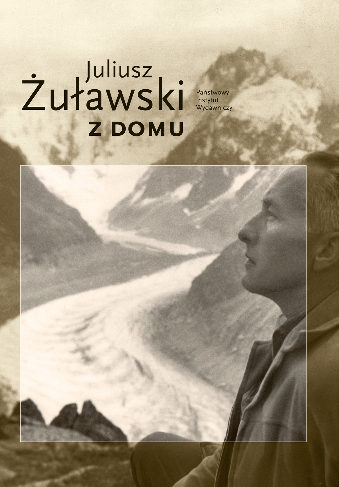 """Juliusz Żuławski, """"Z domu"""" – okładka (źródło: materiały prasowe wydawcy)"""