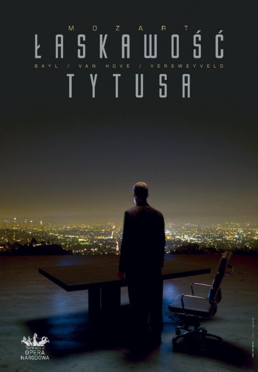 """Łaskawość Tytusa"", reż. Ivo van Hove, plakat (źródło: materiały prasowe organizatora)"