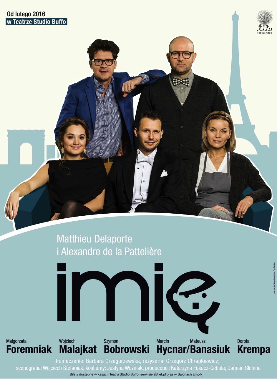 """""""Imię"""", reż. Grzegorz Chrapkiewicz, plakat (źródło: materiały prasowe organizatora)"""
