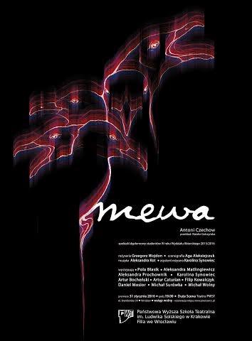 """""""Mewa"""", reż. Grzegorz Wojdon, plakat (źródło: materiały prasowe organizatora)"""
