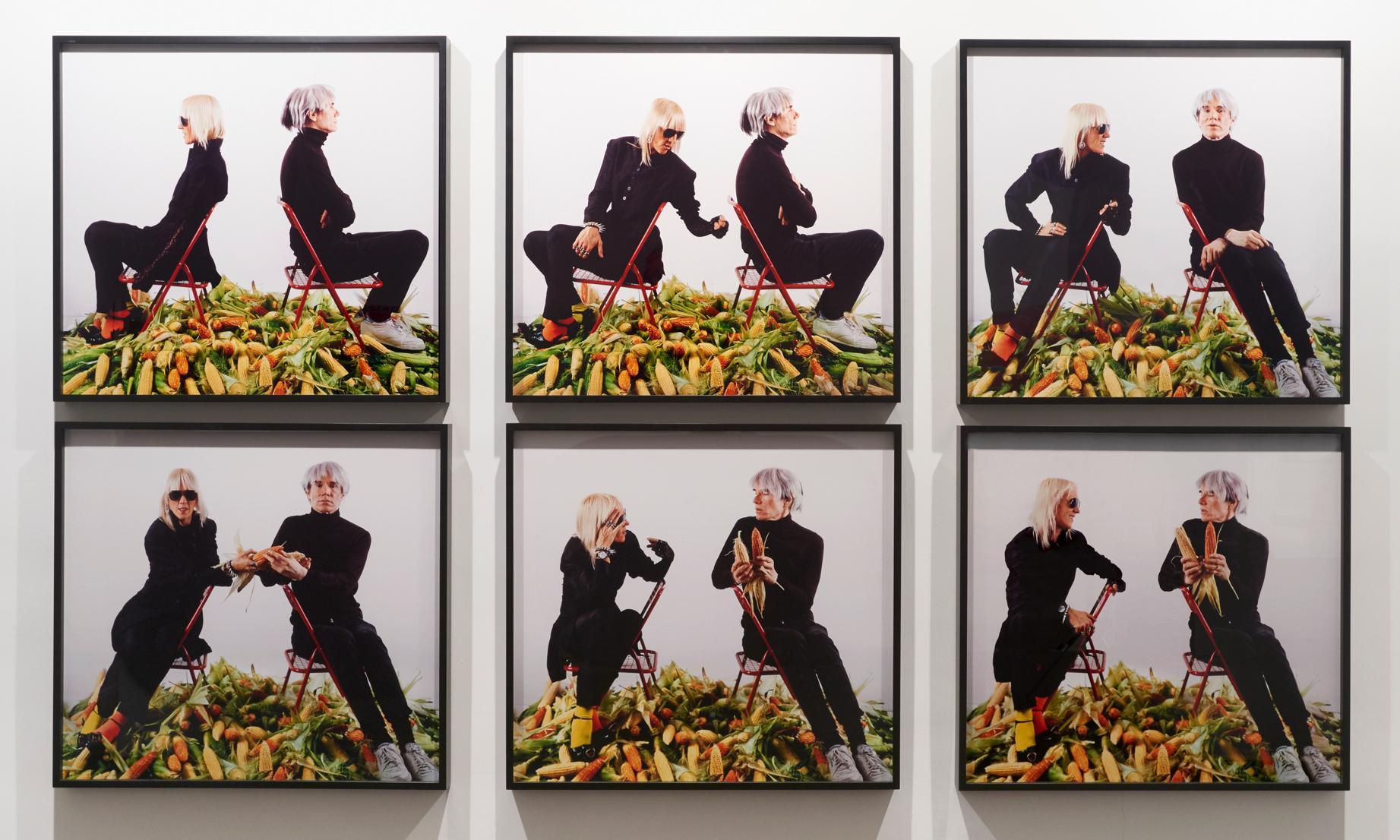 """Marta Minujin, """"Spłata argentyńskiego długu zagranicznego Andy Warholowi kukurydzą, latyno-amerykańskim złotem"""", 1985/2011, dzięki uprzejmości artystki i galerii Henrique Faria (źródło: materiały prasowe organizatora)"""