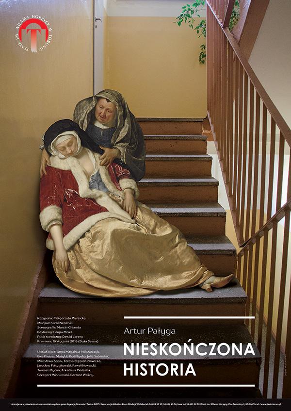 """""""Nieskończona historia"""", reż. Małgorzata Warsicka, plakat (źródło: materiały prasowe organizatora)"""