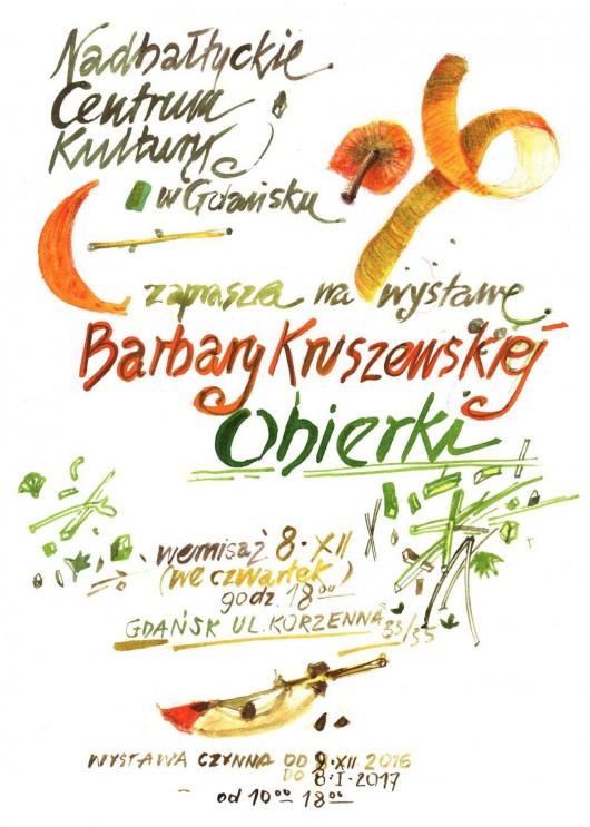 """Barbara Kruszewska, """"Obierki"""" (źródło: materiały prasowe organizatora)"""