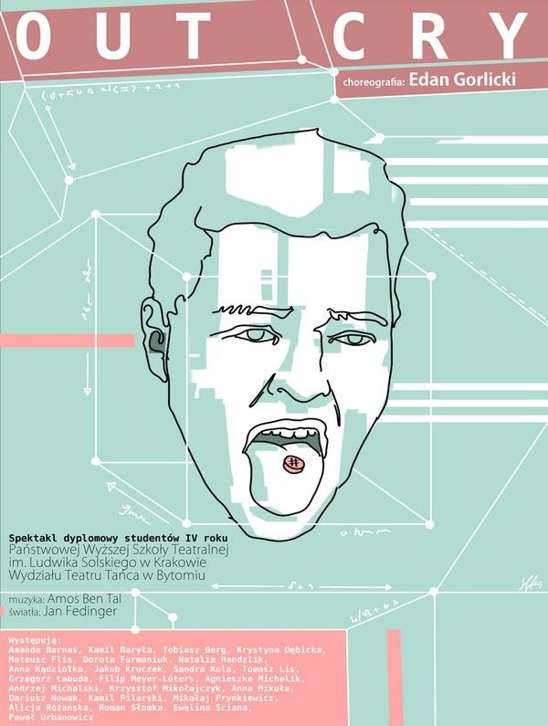"""""""Out cry"""" – plakat (źródło: materiały prasowe organizatora)"""