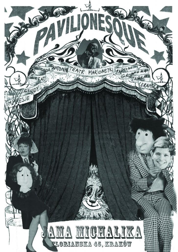 """""""Pavilionesque"""" – plakat (źródło: materiały organizatora)"""