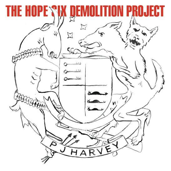"""PJ Harvey, """"The Hope Six Demolition Project"""" − okładka płyty (źródło: materiały prasowe wydawcy)"""