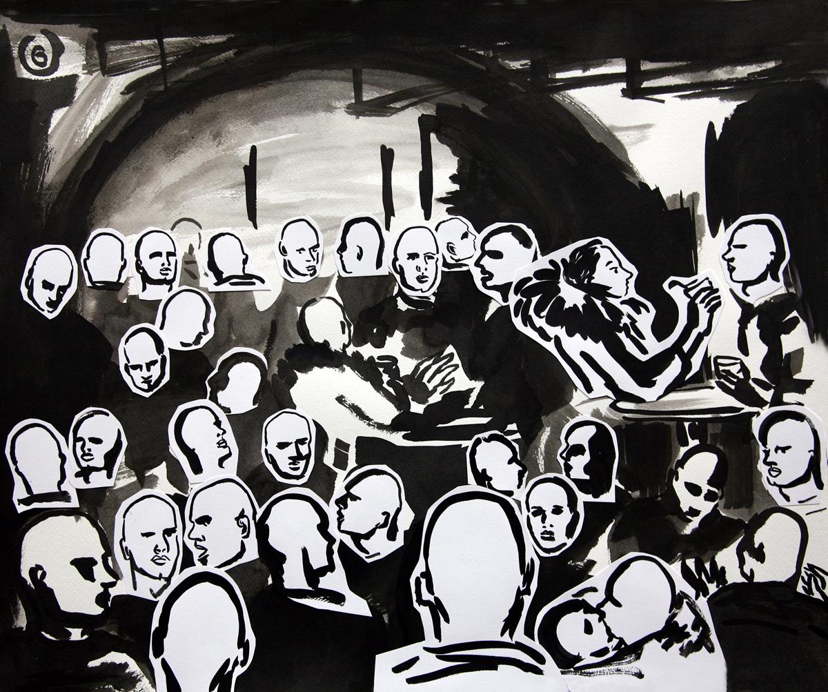 """Pola Dwurnik, """"Piosenka dla Wojtka"""" (nr 6), 2014 (źródło: materiały prasowe organizatora)"""