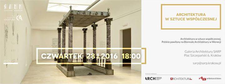 """""""Architektura w sztuce współczesnej. Polskie pawilony na Biennale Architektury w Wenecji"""" (źródło: materiały prasowe organizatora)"""