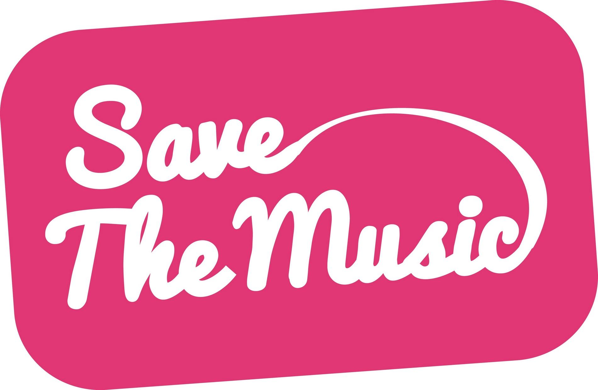 """Save The Music"" – logo kampanii (źródło: materiały prasowe organizatora)"